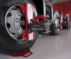 Truck & Bus wheel alignment service at Nota Motors