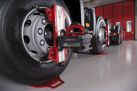 Truck & Bus wheel alignment service at Nota Motors