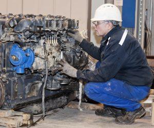 Fully Trained Staff Undertake Engine Repairs